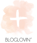 follow me on bloglovin'.